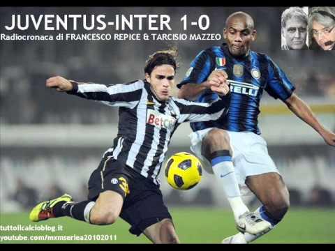 JUVENTUS-INTER 1-0 di Francesco Repice & Tarcisio Mazzeo (13/2/2011) Radiocronaca da Radio 1 RAI