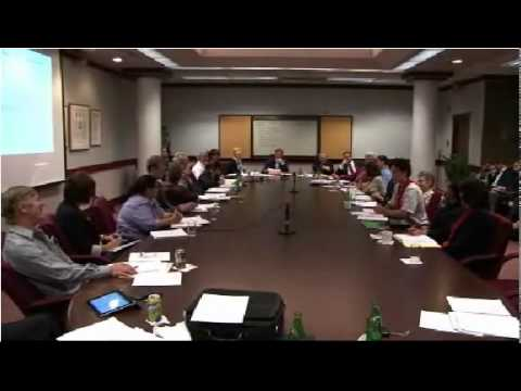 "Vasek Mezl: ""Dirty stuff"" in the Faculty of Medicine, University of Ottawa Senate (Sept. 12, 2011)"