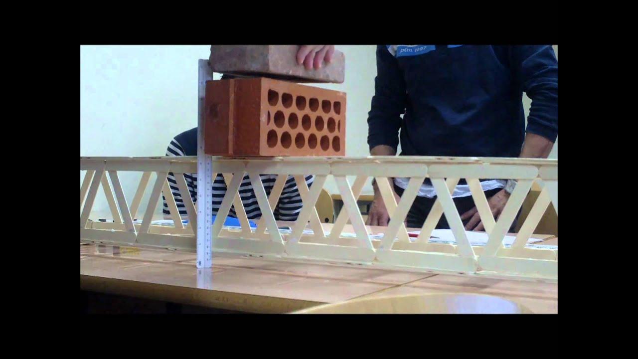 Como Hacer Un Puente Con Palitos De Paleta