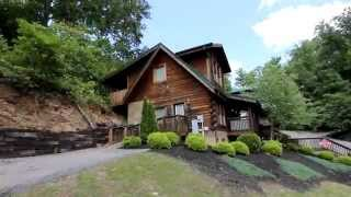 """Lovers Paradise"" 2 Bedroom Cabin in Arrowhead Resort Pigeon Forge TN - Cabins USA 2013"
