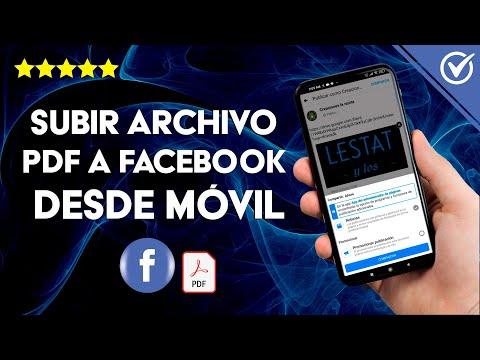 Cómo Subir o Publicar un Archivo PDF a Facebook o Fan Page Desde el Celular