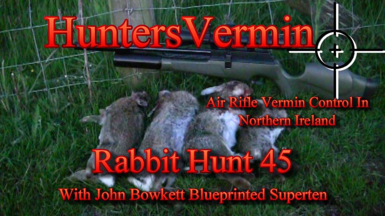 Air Rifle Hunting, Rabbit Hunt 45 - Смотреть видео бесплатно