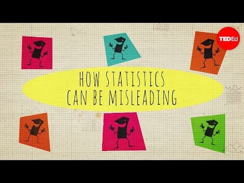 Video image: How statistics can be misleading - Mark Liddell