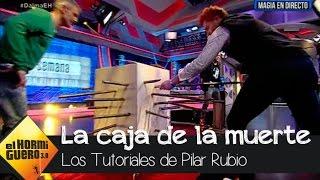 Pilar Rubio vence a 'la caja de la muerte'  - El Hormiguero 3.0