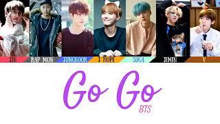 Lirik lagu bts ( Go Go )