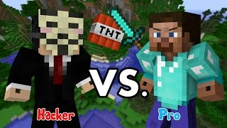 Hacker Vs Pro - Minecraft thumbnail