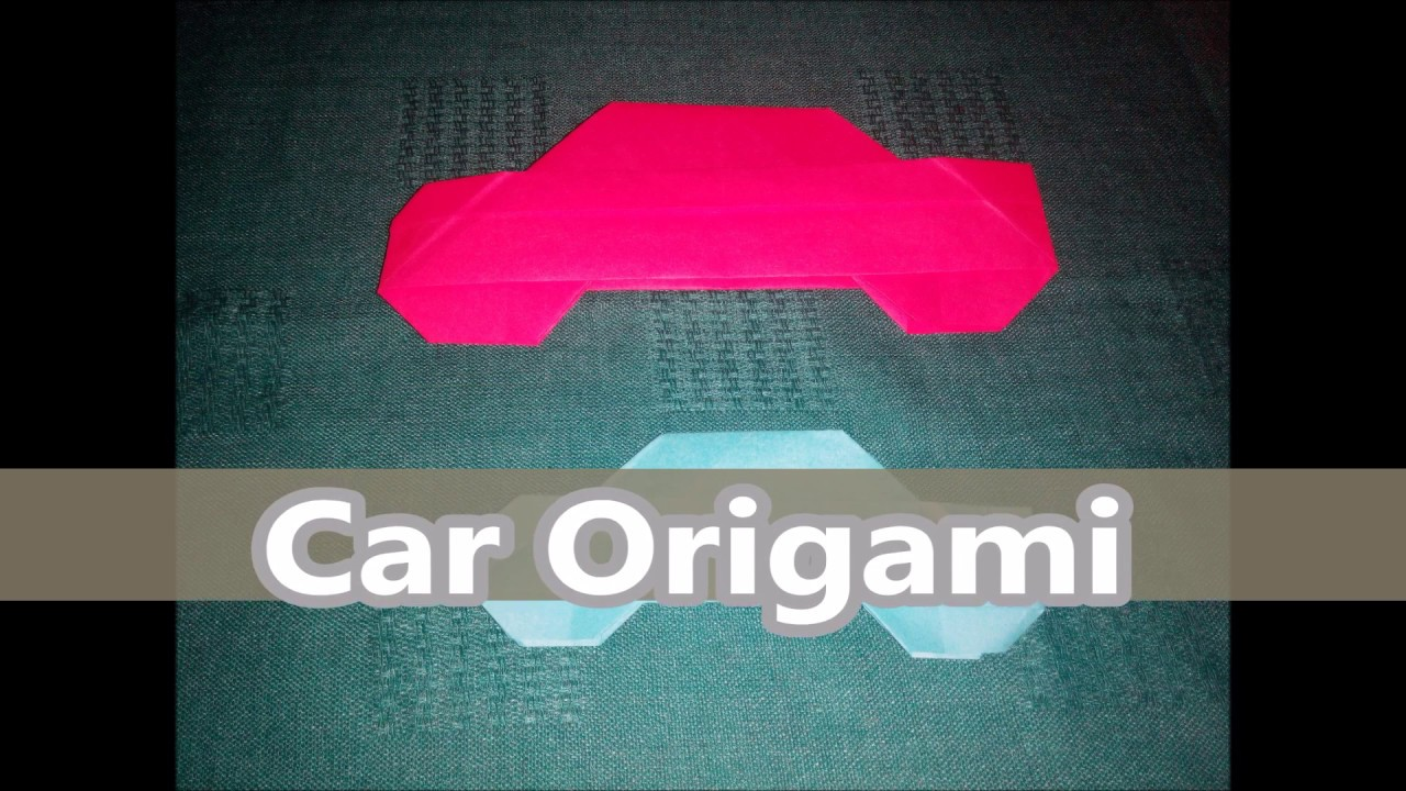 Car origami the easy way to make youtube car origami the easy way to make jeuxipadfo Choice Image