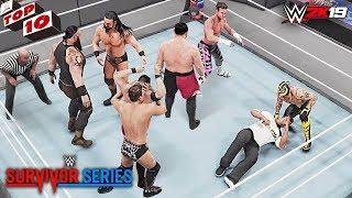 WWE Top 10 Survivor Series 2018 Predictions! (WWE 2K19)