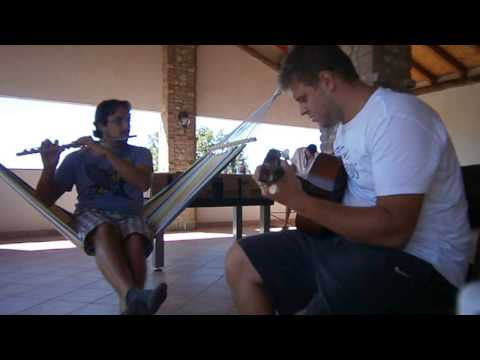 Free Bird live @ Oltrepò pavese (Guitar and Flute version)