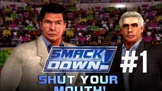 WWE SMACKDOWN: SHUT YOUR MOUTH - Season Mode, EP.1 (The Draft)