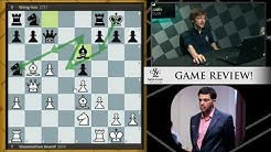 Anand vs. Wang Hao, 2011 Tata Steel | Game Review