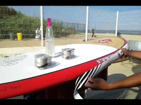 Video colocacion Protector de tabla Rail Saver Pro por SUPBarcelona