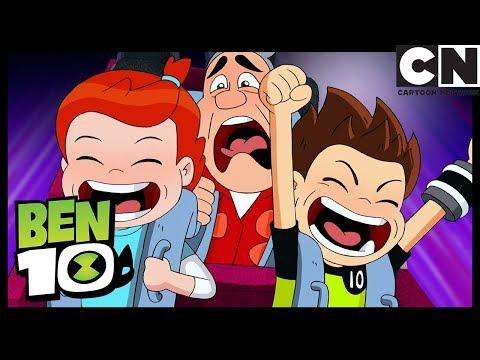 Parque de Diversiones | Zombozolandia | Ben 10 en Español Latino | Cartoon Network