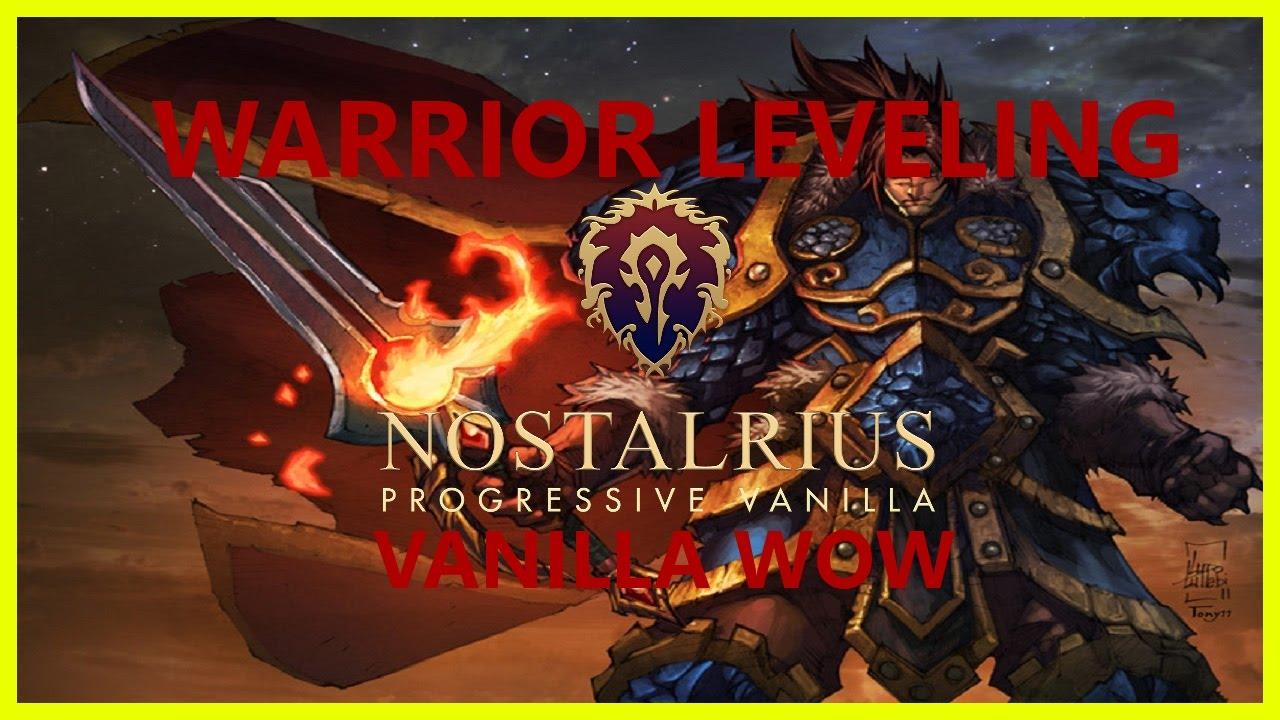 TIPS FOR LEVELING A WARRIOR IN VANILLA WOW || Elysium/Nostalrius/Kronos