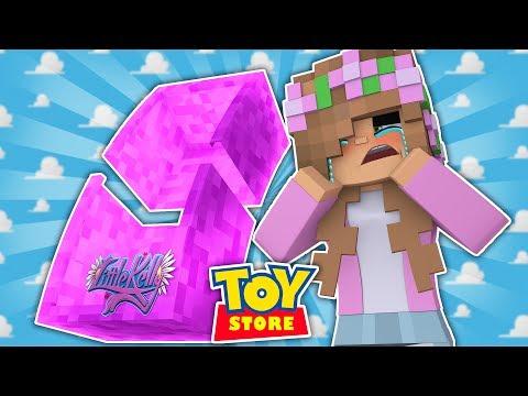 LITTLE KELLY IS A BROKEN DOLL! Minecraft Toystore
