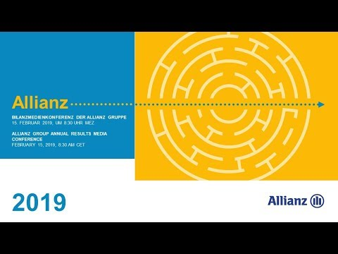 Allianz Group Annual Media Conference 2019