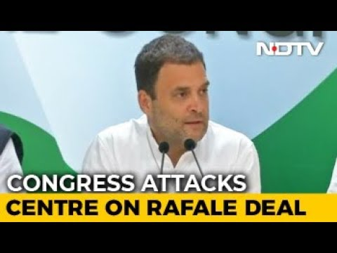"""Dassault CEO Protecting PM Modi,"" Says Rahul Gandhi On Rafale Deal"