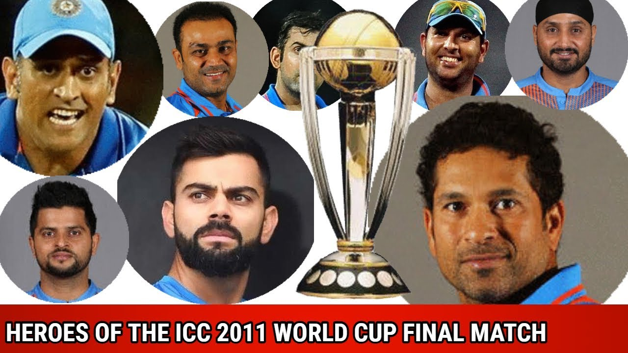 Icc World Cup 2011 Final India Playing 11 Youtube