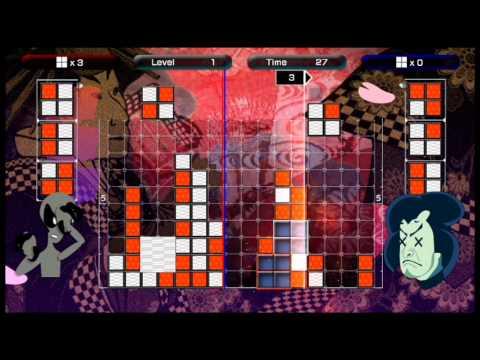 Lumines Live! Vs  CPU Mode Complete HD