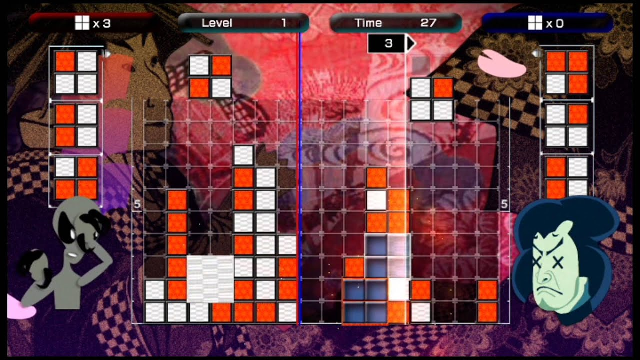 Lumines Live! (X360) by Vizzed Gameplay Videos