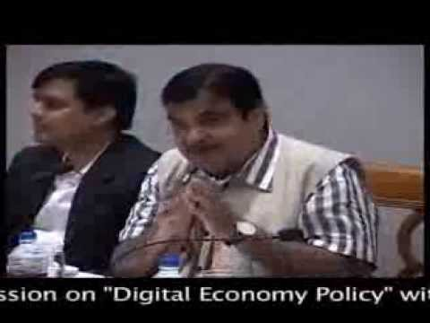 CEO's Interactive session on Digital Economy Policy with Shri.Nitin Gadkariji_Part2