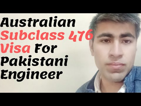 Australian Subclass 476 Visa For Washington Accord For Engineering Students Only Pakistan
