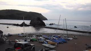 Peaceful Interlude - Early Morning High Tide Hope Cove