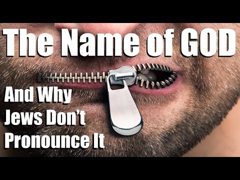 Why Jews Don't Say GOD's Name? – Reply 2 One For Israel Jewish Voice Messianic Jews For Jesus МЕБИ
