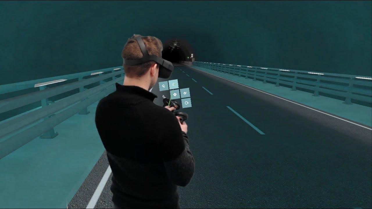 Digital tvilling av Ryfast