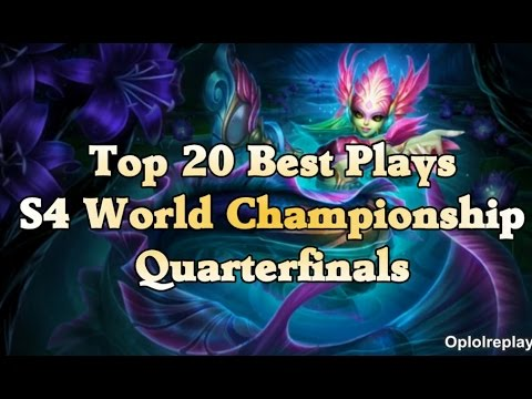 Top 20 Best Plays - League Of Legends S4 World Championship Quarterfinal