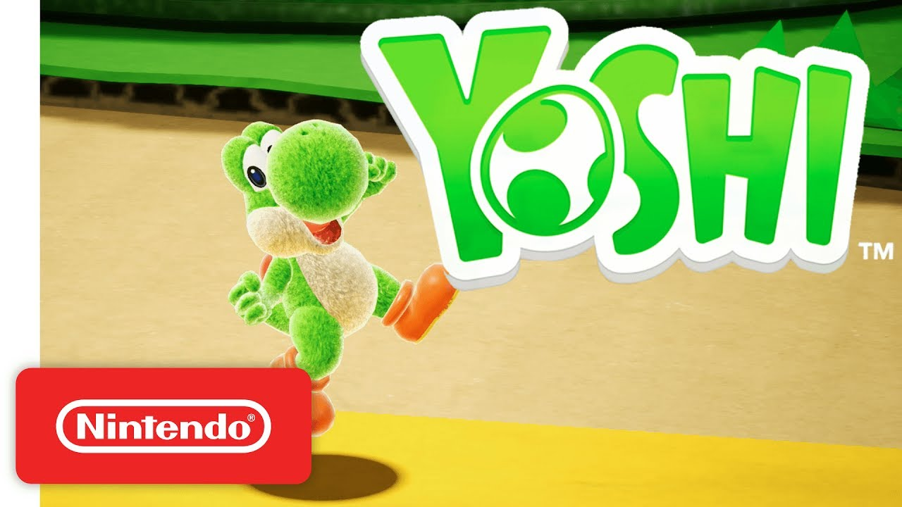 Yoshi For Nintendo Switch Official Game Trailer Nintendo E3 2017