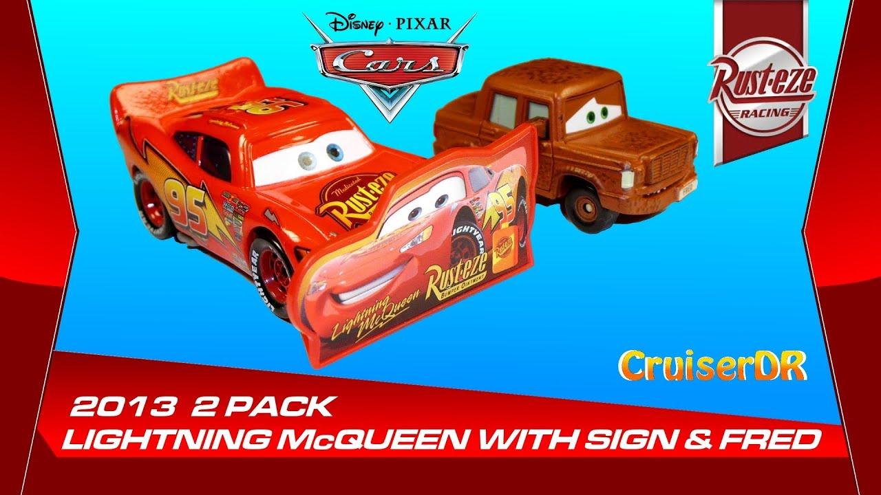 Disney Pixar Cars Rusty Rust-Eze 2013 NEW