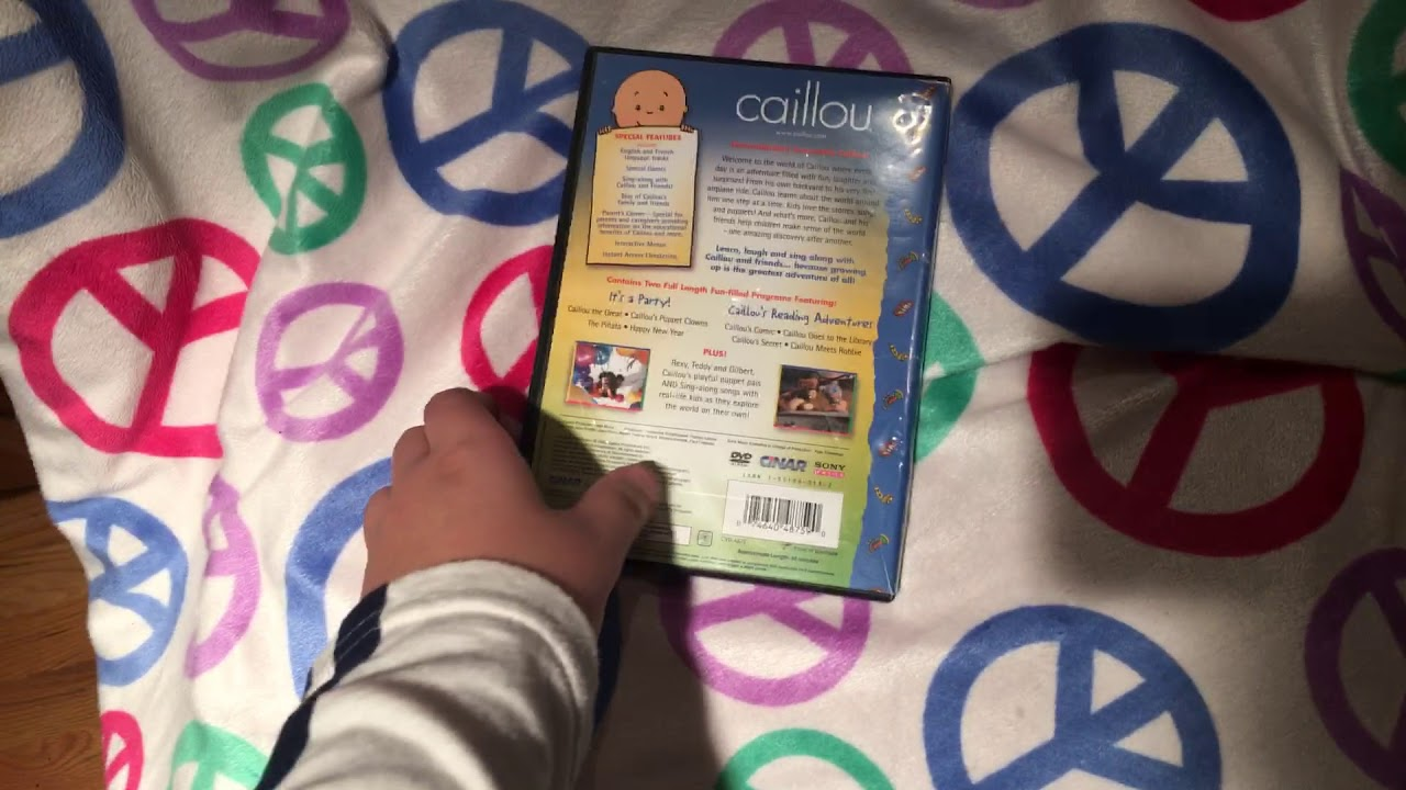 Opening to caillou family collection vol. 2 2002 dvd - YouTubeCaillou Family Collection