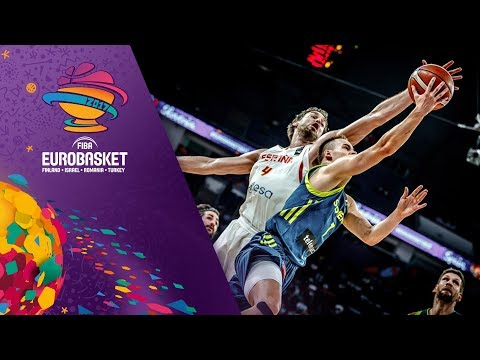 HIGHLIGHTS: Spain vs. Slovenia (VIDEO) SEMIS -  FIBA EuroBasket 2017