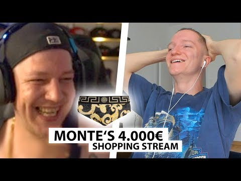Justin Reagiert Auf Montes 4000€ Shopping Stream.. | Reaktion