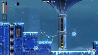 First Ever Speedrun of a Megaman Stage - Megaman 11 Tundra Stage