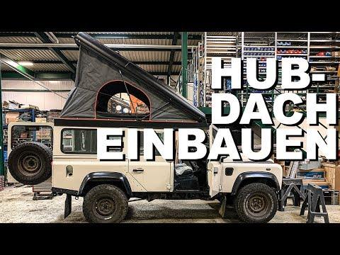Hubdach bei Land Rover Defender einbauen | 4x4PASSION #203