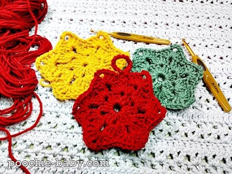 Crochet Granny Star: Pinterest Pattern Test