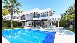 355000-745000€ Элитные виллы в стиле Hi-Tech в клубном районе Бенидорма. Дом мечты у моря в Испании!