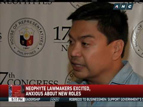 Neophyte lawmakers make up 1/3 of lower House