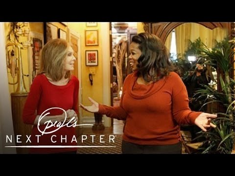 Gloria Steinem's New York City Apartment | Oprah's Next Chapter | Oprah Winfrey Network