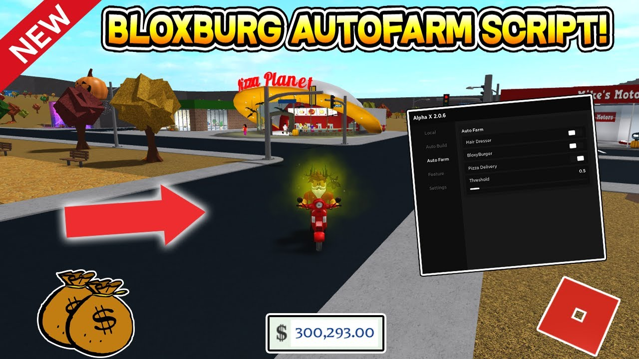 NEW OP BLOXBURG AUTO FARM SCRIPT (INFINITE MONEY ) ROBLOX YouTube
