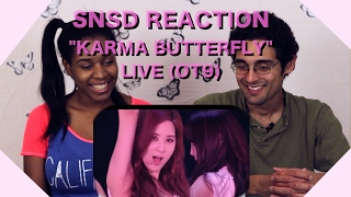 [Boyfriend Reacts] Karma Butterfly - Girls' Generation @ Japan 3rd Arena Tour