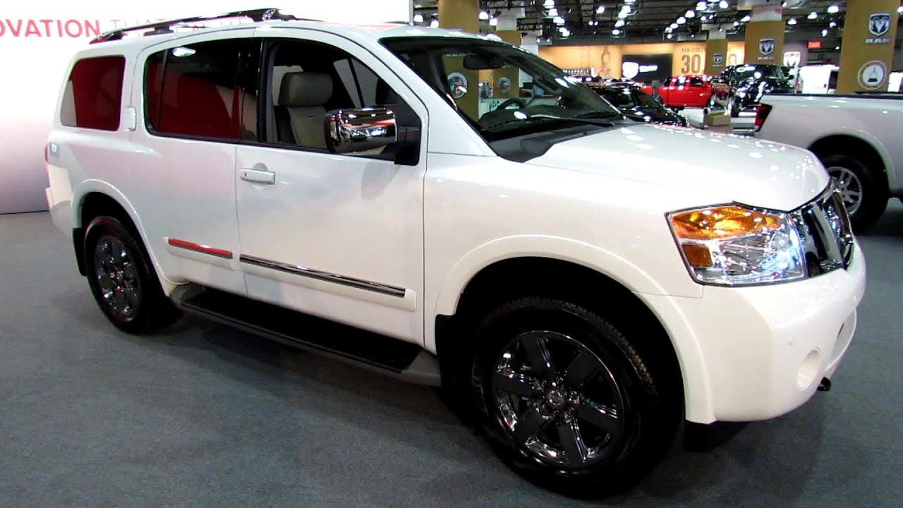 2013 Nissan Armada Platinum Exterior And Interior