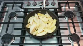 baked Farmer Cheese with Apples/ Как приготовить творожно-яблочную запеканку