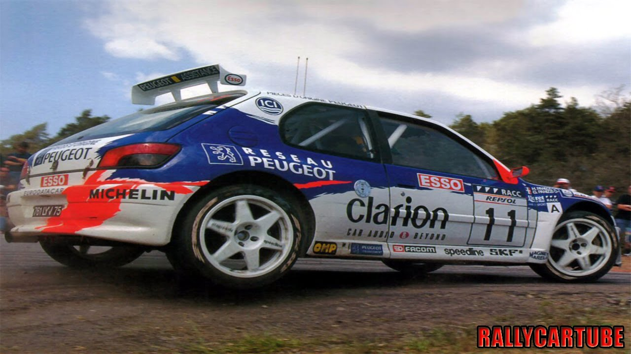 Peugeot 306 Maxi Rally Kit Car Pure Engine Sound - YouTube