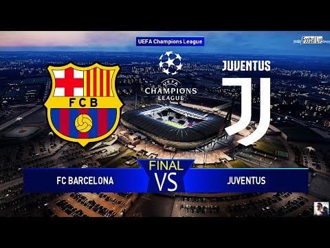 pes 2020 uefa champions league final fc barcelona vs juventus cf gameplay pc youtube pes 2020 uefa champions league final fc barcelona vs juventus cf gameplay pc