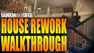 Rainbow Six Siege - In Depth: HOUSE REWORK FULL WALKTHROUGH! Operation Steel Wave