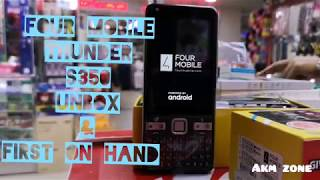 FOUR THUNDER S350 4G LTE UNBOX AND REVIEWS