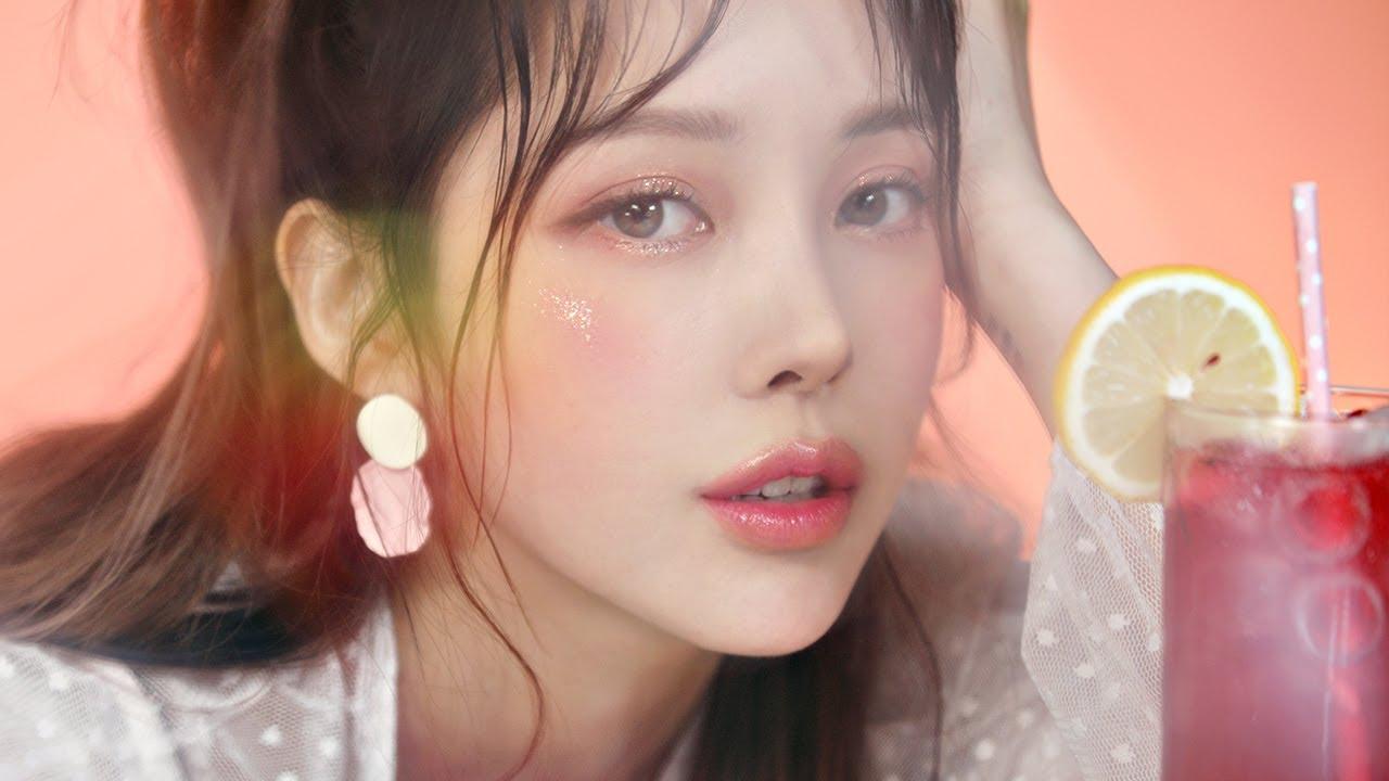 🍑 Peach crush Makeup (with sub) 🍑 피치 크러쉬 메이크업